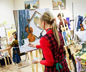 Художественная школа в Таллине