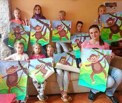 Преподаватель школы рисования Artmaailm Raissa Paskevich